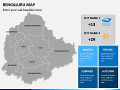 Bengaluru Map PPT Slide 10