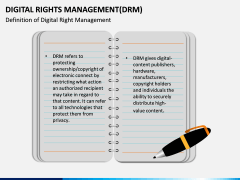 Digital Rights Management PPT Slide 1
