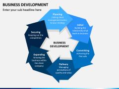 Business Development PPT Slide 1