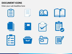 Document Icons PPT Slide 6