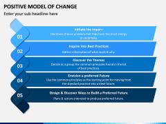 Positive Model of Change PPT Slide 6