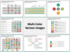 Responsibility assignment matrix multicolor combined