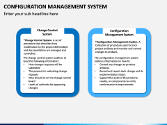 Configuration Management System PPT Slide 12