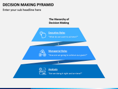 Decision Making Pyramid PPT Slide 4
