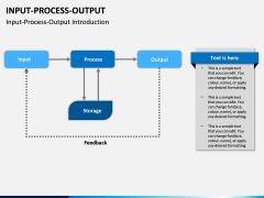 Input Process Output PPT slide 12