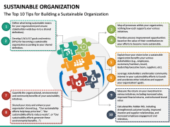 Sustainable Organization PPT Slide 18