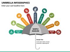 Umbrella Infographics PPT Slide 16