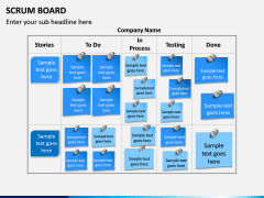 SCRUM Board PPT Slide 3