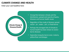 Climate Change and Health PPT Slide 14