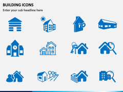 Building Icons PPT Slide 8