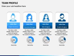 Team Profile PPT Slide 1