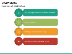 Ergonomics PPT Slide 34