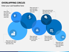 Overlapping Circles PPT Slide 2