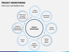 Project Monitoring PPT Slide 1