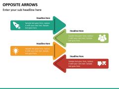 Opposite Arrows PPT Slide 18