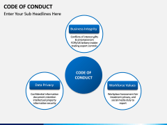 Code of Conduct PPT slide 3