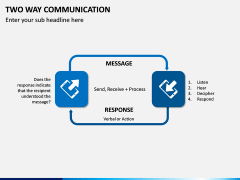 Two Way Communication PPT Slide 7