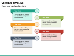 Vertical Timeline PPT Slide 22