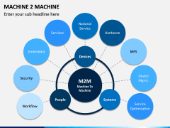 Machine to Machine (M2M) PPT Slide 2