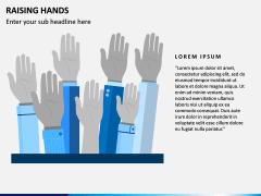 Raising Hands PPT Slide 5