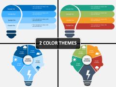 Bulb Infographics PPT Cover Slide