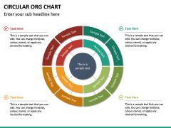 Circular ORG Chart PPT Slide 29