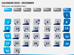 Calendar 2019 PPT Slide 12
