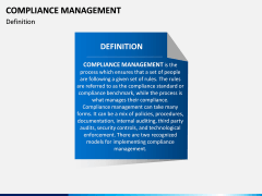 Compliance Management PPT Slide 3