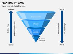 Planning Pyramid PPT Slide 1