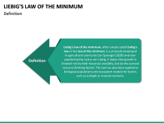 Liebig's Law of the Minimum PPT Slide 10