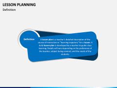 Lesson Planning PPT Slide 1