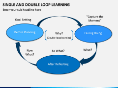 Single and Double Loop Learning PPT Slide 6