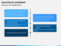 Qualities of Leadership PPT Slide 6