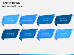 Healthy Living PPT Slide 2
