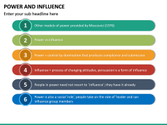 Power and Influence PPT Slide 16