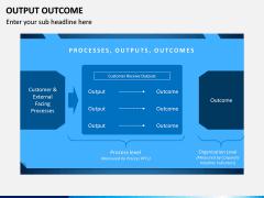 Output Outcome PPT Slide 6
