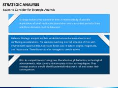 Strategic Analysis PPT Slide 12