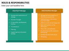Roles and Responsibilities PPT Slide 39