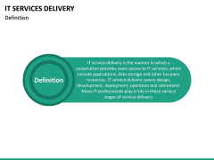 IT Service Delivery PPT Slide 14