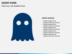 Ghost Icons PPT Slide 3