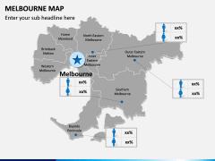 Melbourne Map PPT Slide 10