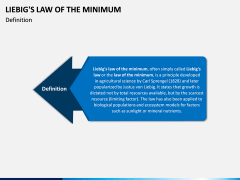 Liebig's Law of the Minimum PPT Slide 1