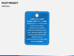 Pilot Project PPT Slide 1