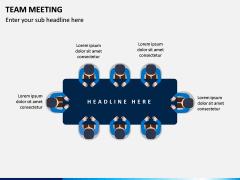 Team Meeting PPT Slide 9