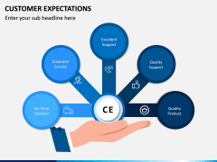 Customer Expectations PPT Slide 1