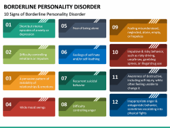 Borderline Personality Disorder (BPD) PPT Slide 19