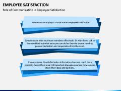 Employee Satisfaction PPT Slide 12