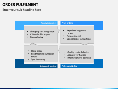 Order Fulfilment PPT Slide 9