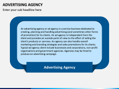 Advertising Agency PPT Slide 1
