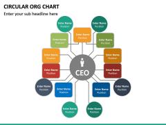 Circular ORG Chart PPT Slide 25
